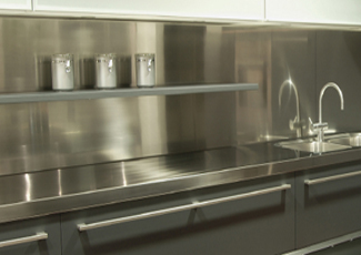 Orange Park, FL Stainless Steel Countertop