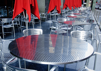 Jacksonville Beach, FL Stainless Steel Table
