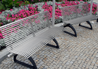 Stainless Steel Benches - Lakeside, FL